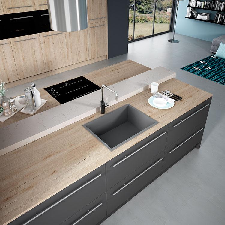 Cocinas Modernas - The New Social Kitchen - Faro by ALVIC