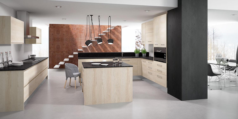 Diseño de cocinas - Faro by Alvic