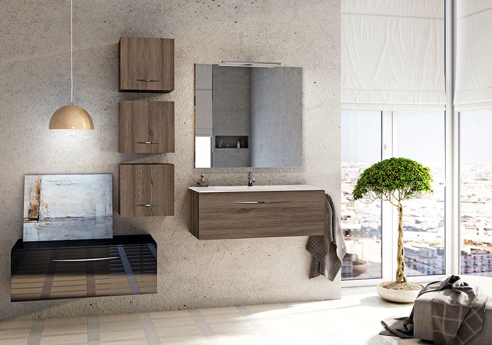 los lavabos mantienen una forma duplicndose cuando es posible y nuevamente sobre muebles en altura este estilo da un toque de elegancia y