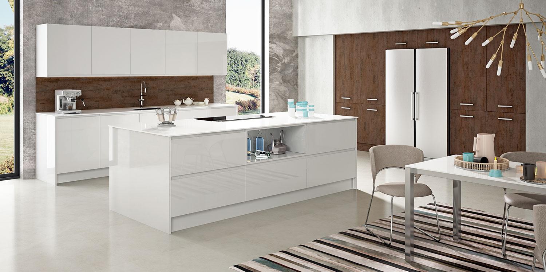Un nuevo concepto de cocinas modernas the new social - Cocinas modernas precios ...