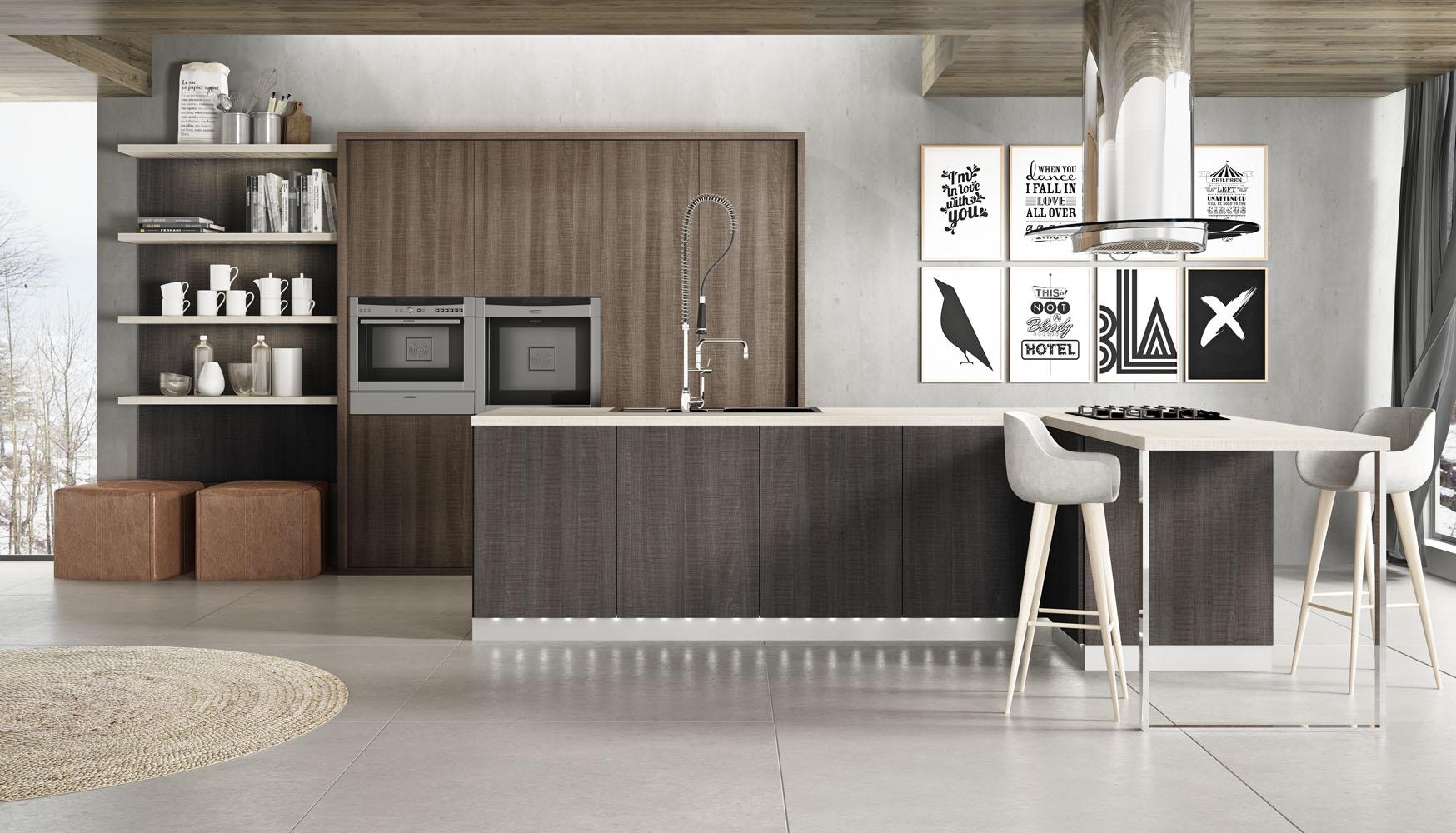 Cocinas rusticas en blanco free cocina blanca rstica with for Cocinas integrales modernas de madera