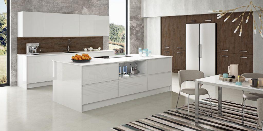 Cocinas Modernas Blancas