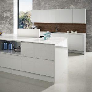 5 razones por las que elegir una cocina blanca alto brillo - Faro by ...
