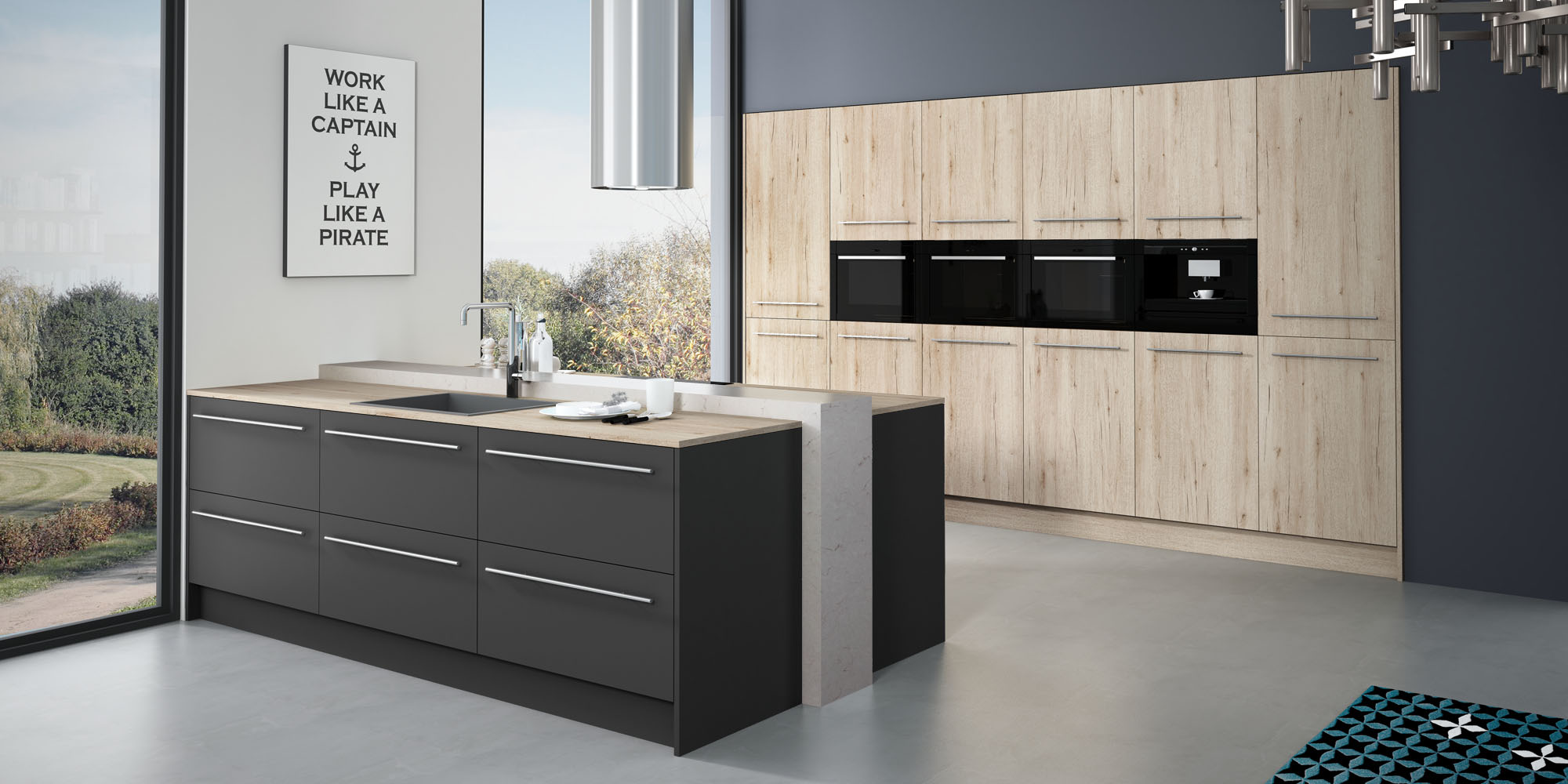 un nuevo concepto de cocinas modernas the new social kitchen faro by alvic