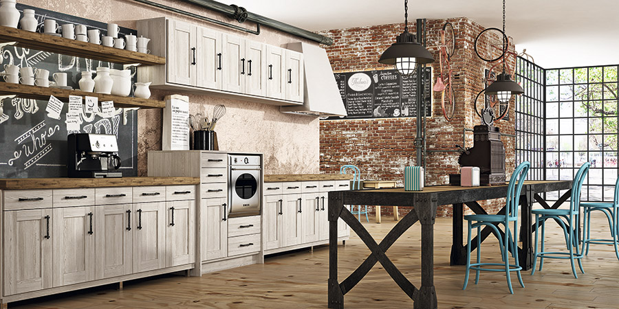 Cocinas Rusticas Modernas Faro By Alvic - Cocinas-rusticas-modernas-fotos