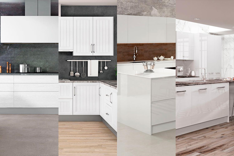 Cocinas blancas faro by alvic - Cocinas blancas ...