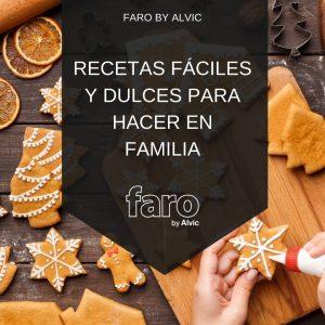 Recetas fáciles y dulces para hacer en familia